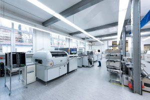 SMD Produktionhalle